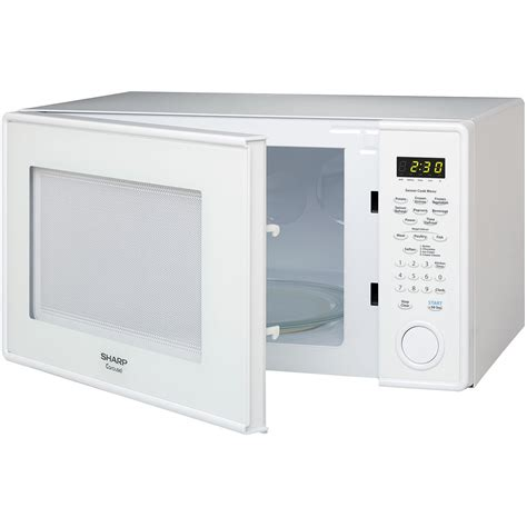Microwave Sharp R 249 In sharp r331zs carousel countertop microwave oven 1 1 cu ft