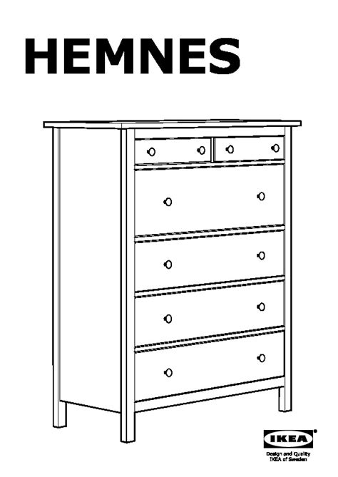 Hemnes Commode by Hemnes Commode 6 Tiroirs Blanc Ikea Ikeapedia
