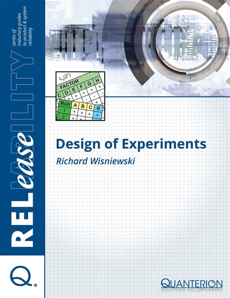 design experiment pdf design of experiments quanterion solutions incorporated