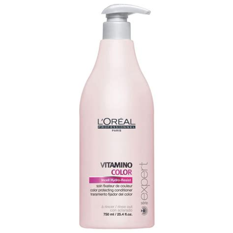 Conditioner Loreal l oreal professionnel serie expert vitamino color conditioner 750ml free shipping