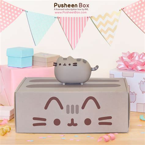 Pusheen Box   Super Cute Kawaii!!