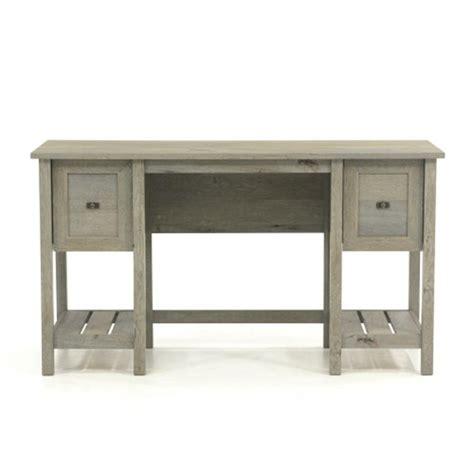 sauder cottage road desk sauder cottage road mystic oak desk with file drawer