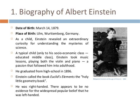 biography albert einstein in english essays about albert einstein