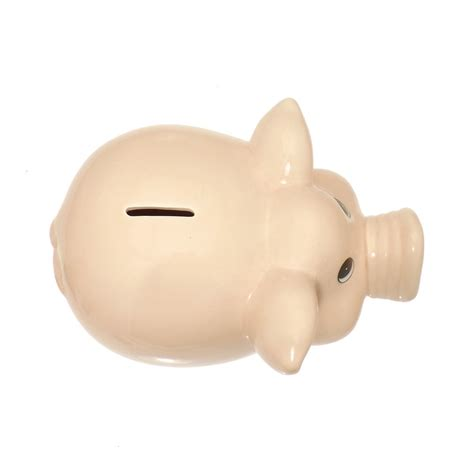 piggy bank with money large piggy bank money box from friars uk