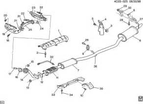 2003 Buick Century Exhaust System Diagram Buick Exhaust Diagram Buick Get Free Image About Wiring