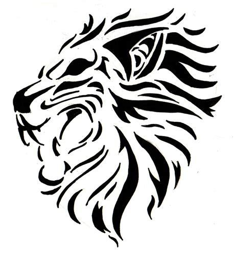tattoo tribal lion head lion tattoo images designs