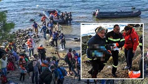 refugee boat tragedy refugee crisis three dead in new refugee boat tragedy