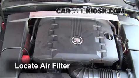 car engine repair manual 2008 cadillac srx engine control air filter how to 2008 2015 cadillac cts 2010 cadillac cts premium 3 6l v6 wagon