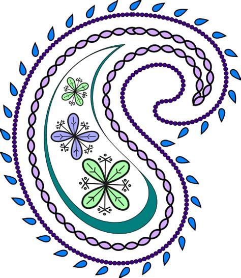paisley pattern png paisley clip art at clker com vector clip art online