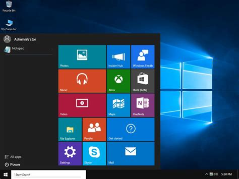 themes for windows 8 1 start menu windows 10 rtm start menu for vistart by newinfinitepro on
