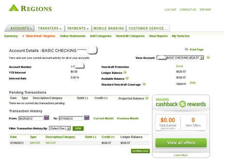 regions bank address checking account images usseek