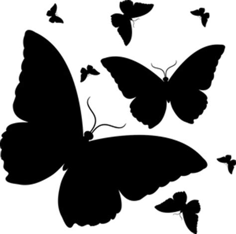 butterfly pattern black and white clipart butterflies clipart image butterfly design in black
