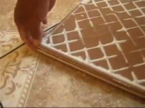 como colocar ceramica  herramientas artesanales youtube