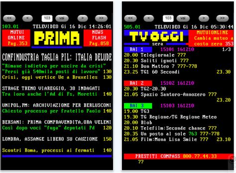 televideo mobile il televideo su iphone iphone italia