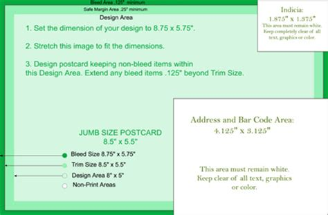 Printinggreen Save Money Save The Environment Jumbo Postcard Template