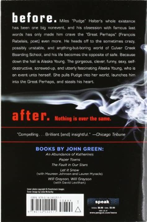 book report looking for alaska looking for alaska book quotes like success