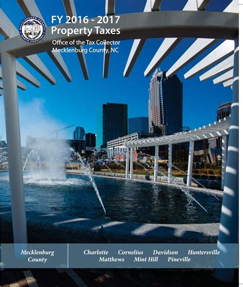 Mecklenburg County Nc Property Tax Records 2017 Property Tax Rates For Union County Nc