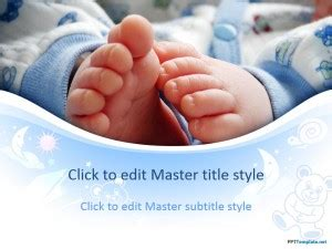 Free Infant Ppt Template Baby Powerpoint Templates