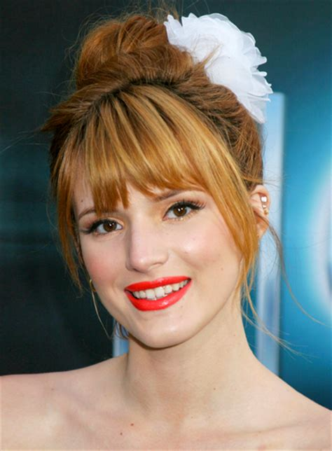 hairstyles with bangs updo best bang hairstyle ideas for big foreheads new haircuts