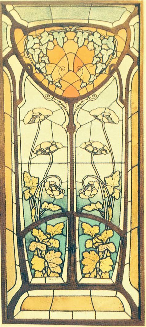 nouveau stains and glasses on - Bleiverglasung Jugendstil