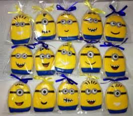 Minion Favors Ideas by Minions Minion Cookies Birthday Favors