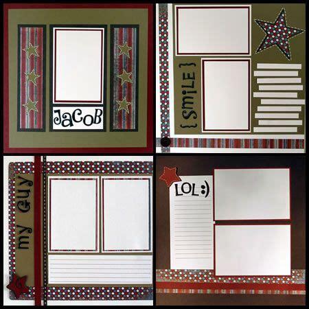 simple scrapbook layout designs simple scrapbook layouts