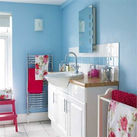 pink and blue bathroom blue and pink bathroom housetohome co uk