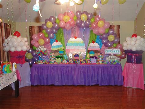 cupcake theme decorations unforgettable creations designed by cupcake themed