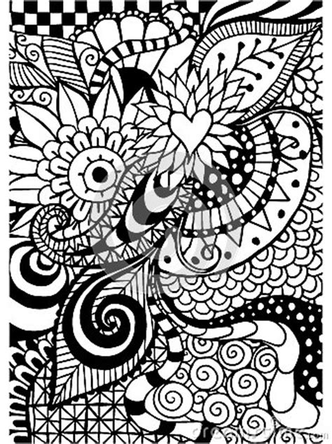 doodle pattern colouring books pattern for coloring book ethnic floral retro doodle