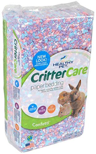 critter care bedding critter care confetti paper bedding hamstercagesdepot