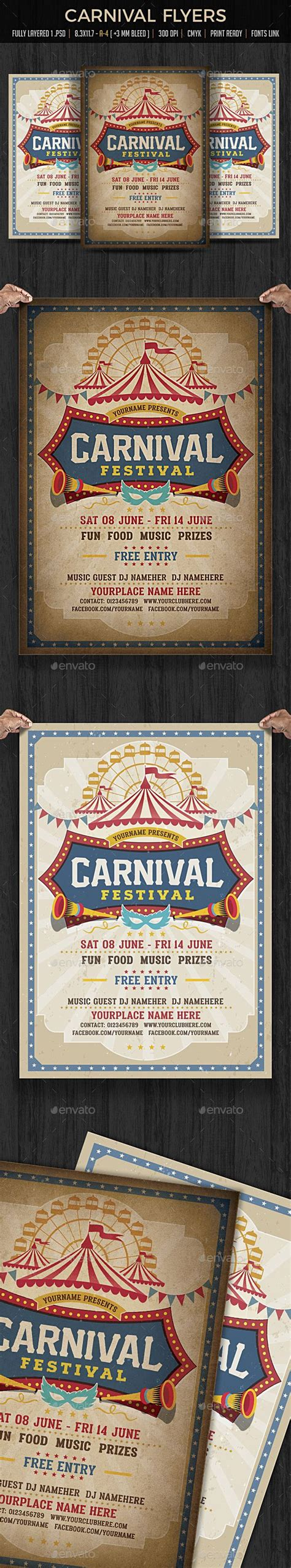 customizable design templates for school carnival postermywall