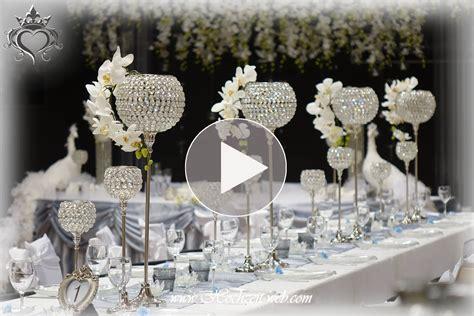 Edle Hochzeitsdeko by Hochzeitsdekoration Und Tischdekoration In Silber Farbe