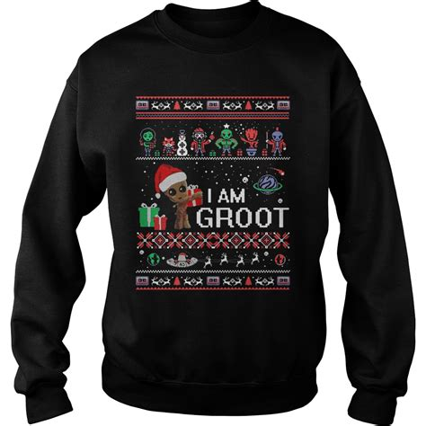 I Am Groot Guardians Of The Galaxy guardians of the galaxy i am groot sweater