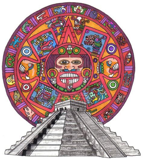 tattoo flash calendar aztec calendar tattoo flash