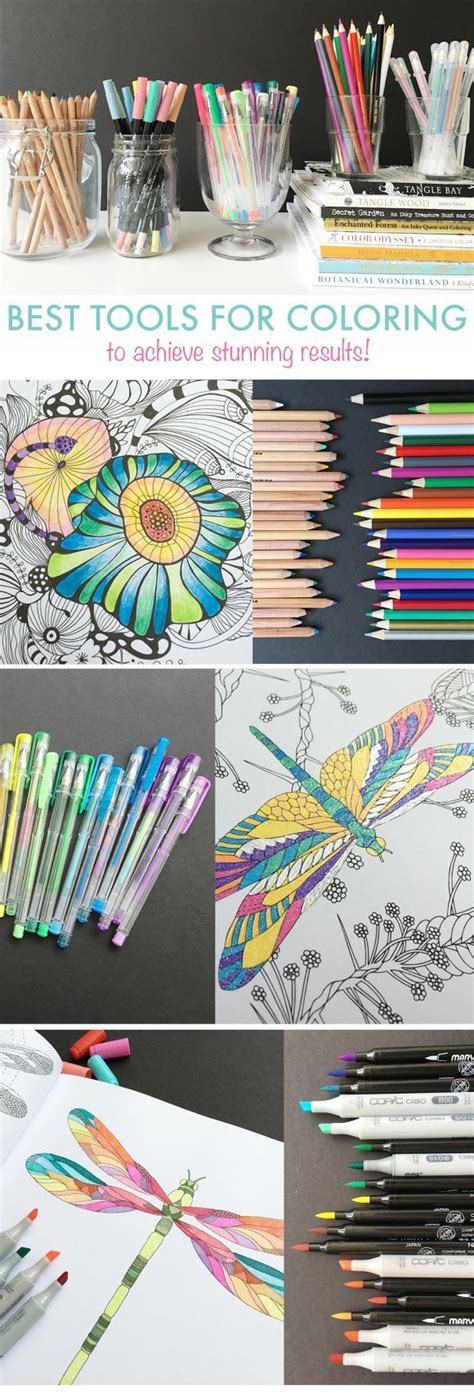 coloring books for adults tips learn the best tools tips and tricks for coloring