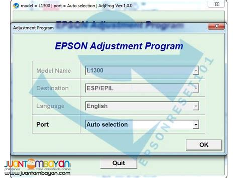 resetter epson k100 epson k100 adjustment program epson rare