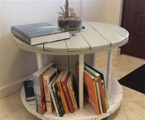 cable spool coffee table 13 diy cable spool table ideas diy to