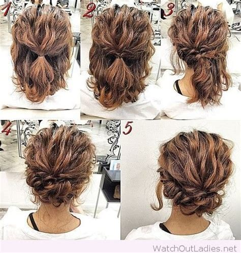 Curly Hairstyles For Tutorial by Pretty Updo Tutorial
