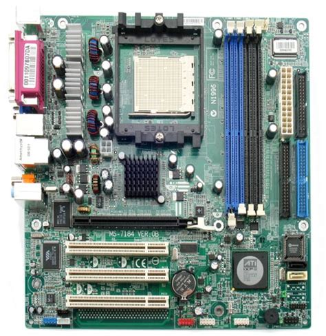 Amd Sockel 939 by Hardware Motherboards Amd Motherboards Amd Socket 939 Emachines Ms 7184 Ati Rs482
