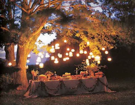 decorating backyard with lights garden party decorations by a professional party planner