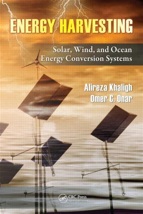 energy harvesting solar wind  ocean energy