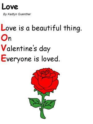 childrens valentines day poems poem for jinni