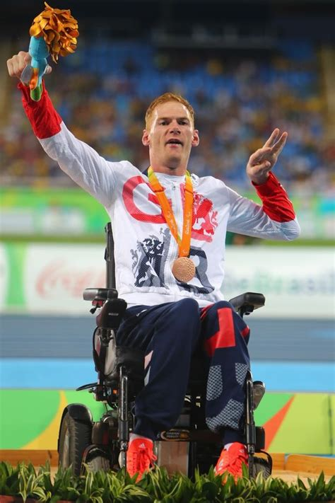 stephen miller athlete paralympic bronze medallist stephen miller targeted by