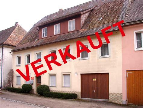 wohnhaus zu verkaufen immobilien in bartenstein schrozberg hohenloher land baden