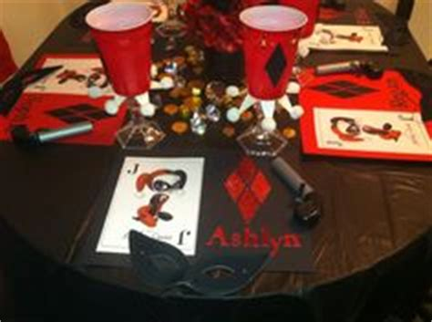 harley quinn themed birthday party 1000 images about birthday party on pinterest harley