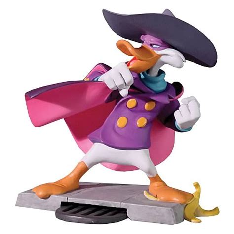 disney rubber st darkwing duck animated maquette electric tiki darkwing