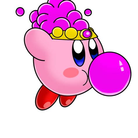 what happens if a eats gum gum kirby by tokeitime on deviantart