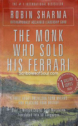 The Monk Who Sold His Reading The Monk Who Sold His By Robin Sharma Review