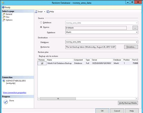 bagaimana cara membuat database di account hosting 2 sql server 2012 hosting tips cara restore database pada