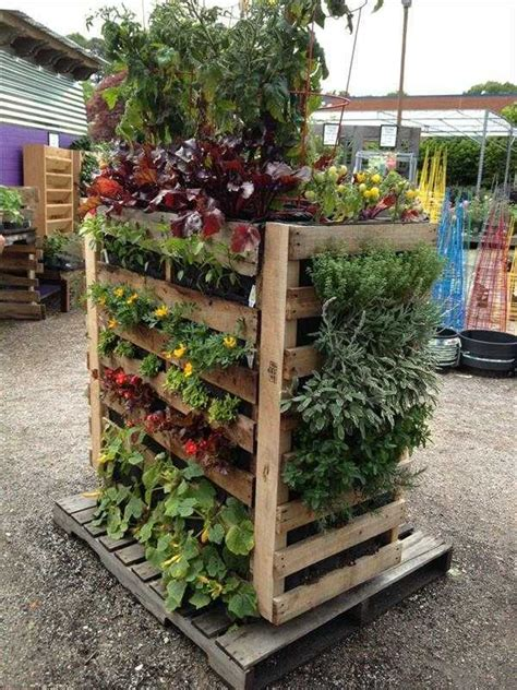 Vertical Flower Garden Creating A Vertical Garden And Flower Diy From
